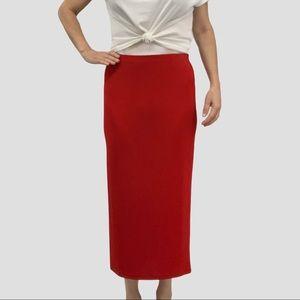 Chico's Private Edition maxi skirt